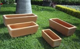 jardinera cuadrada